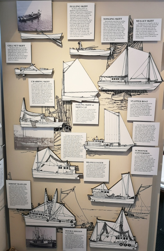 Historic boats of Biloxi