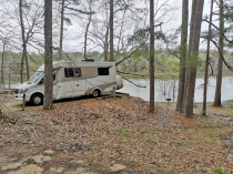 Our site at Tishomingo SP